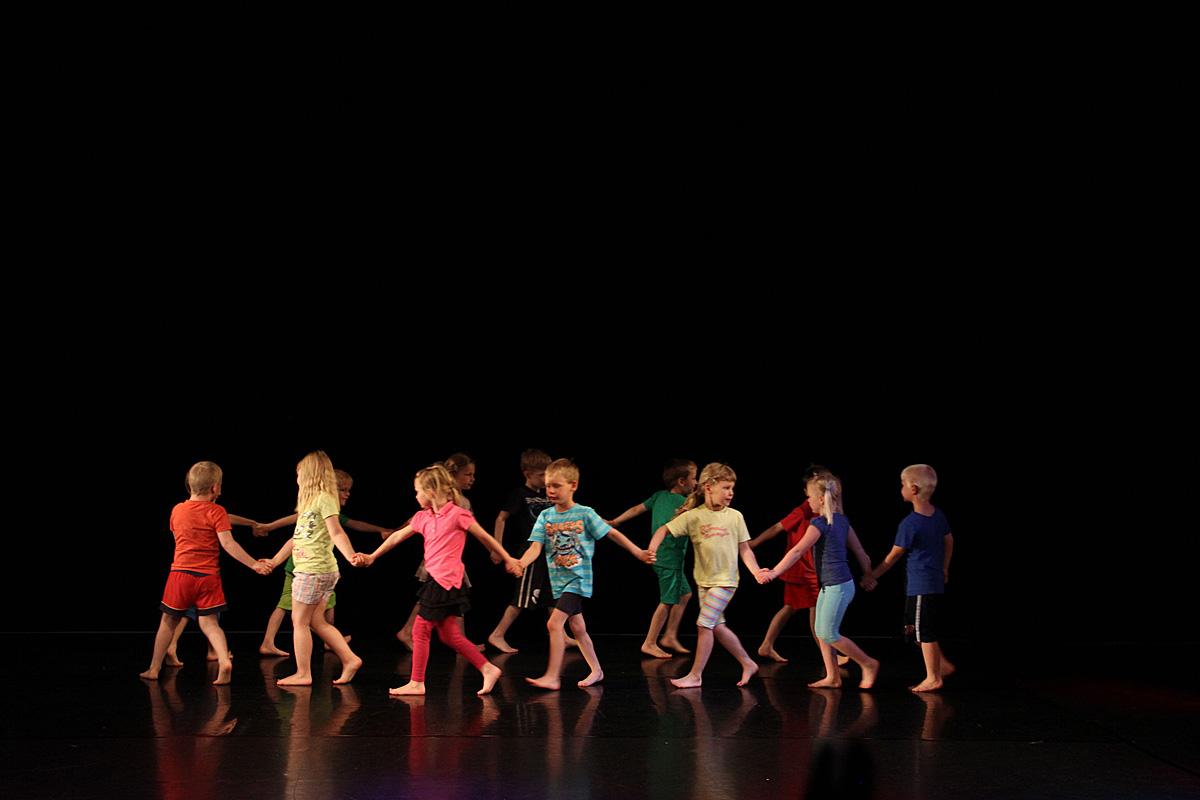 Tänzerische Früherziehung in der Kita Richtenberg